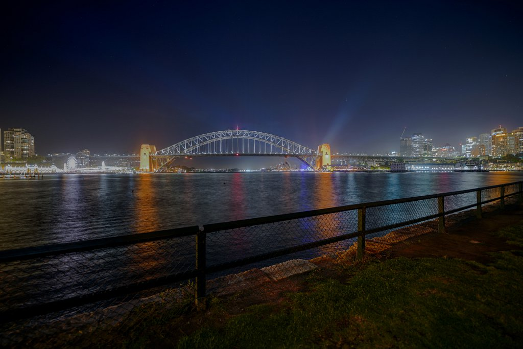 The Sydney Harbour Bridge  using the Sony a7RIII